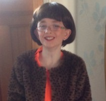 Oscar Twomey as The Boy in the Dress The Myton Hospices Fundraising