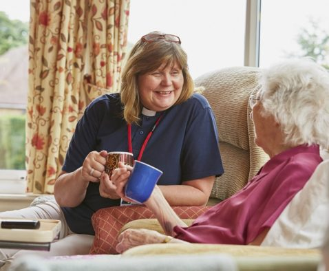 The Myton Hospices Care Leamington Rugby Coventry Warwickshire Nurse Patient Children