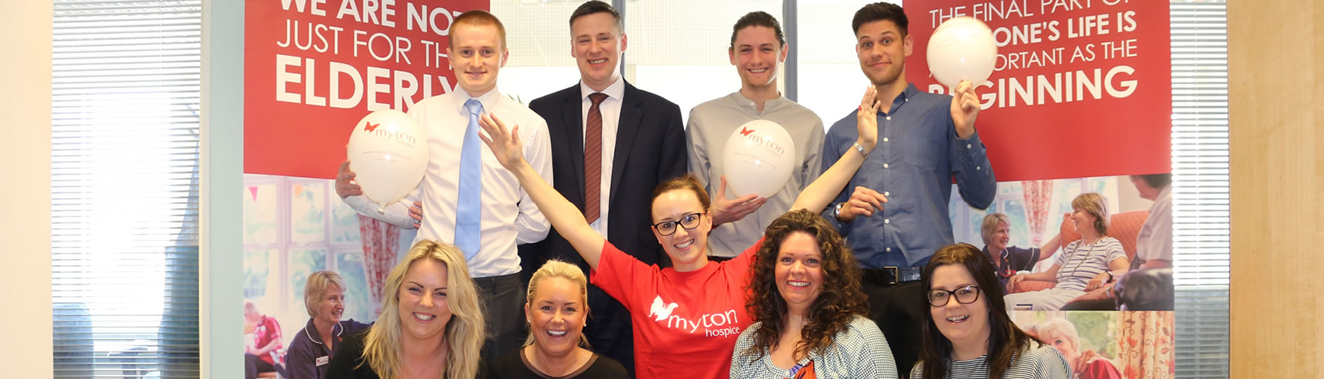 The Myton Hospices Corporate Support Partner Partnership