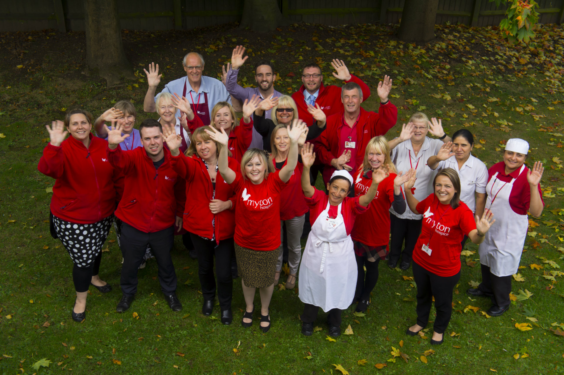 The Myton Hospices - Warwick Leamington Coventry Rugby - Meet the Team Fundraising Banner