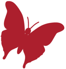 The Myton Hospices Hospice Logo Butterfly Only Medium