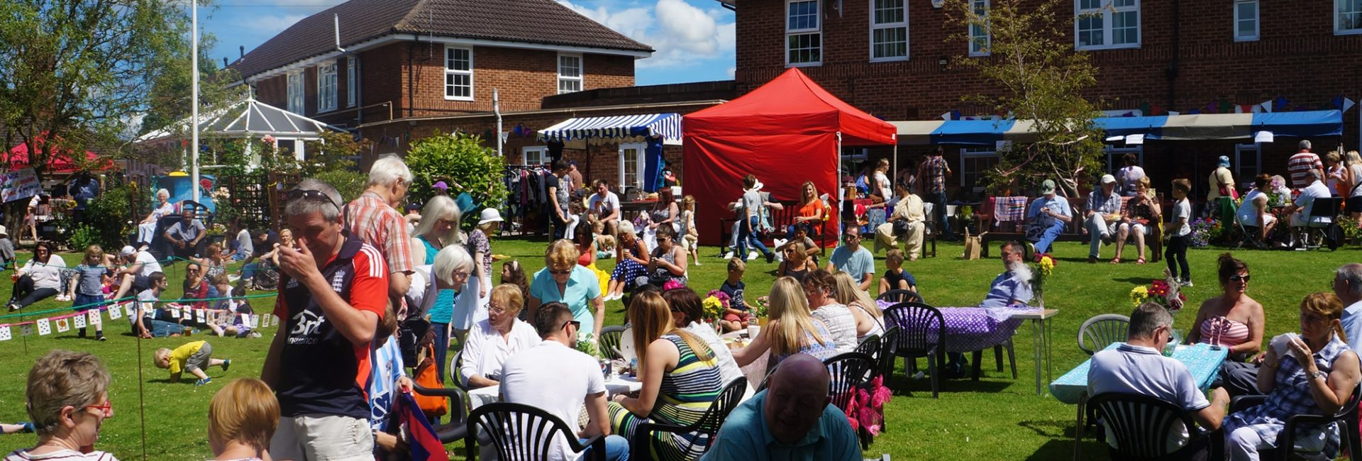 The Myton Hospices Summer Fete and Community Afternoon - Warwick Coventry Rugby Leamington Spa Hospice