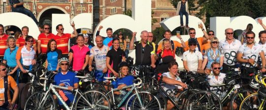London to Amsterdam The Myton Hospices Challenge Event Leamington Coventry Warwick Warwickshire Rugby