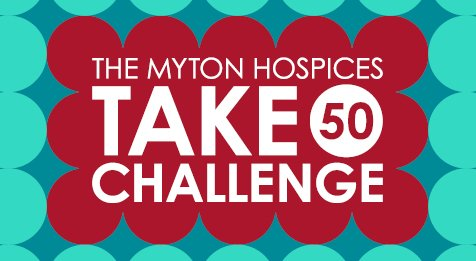 The Myton Hospices Take 50 Challenge Leamington Warwick Coventry Rugby Hospice End of Life Care Corporate Channel Image