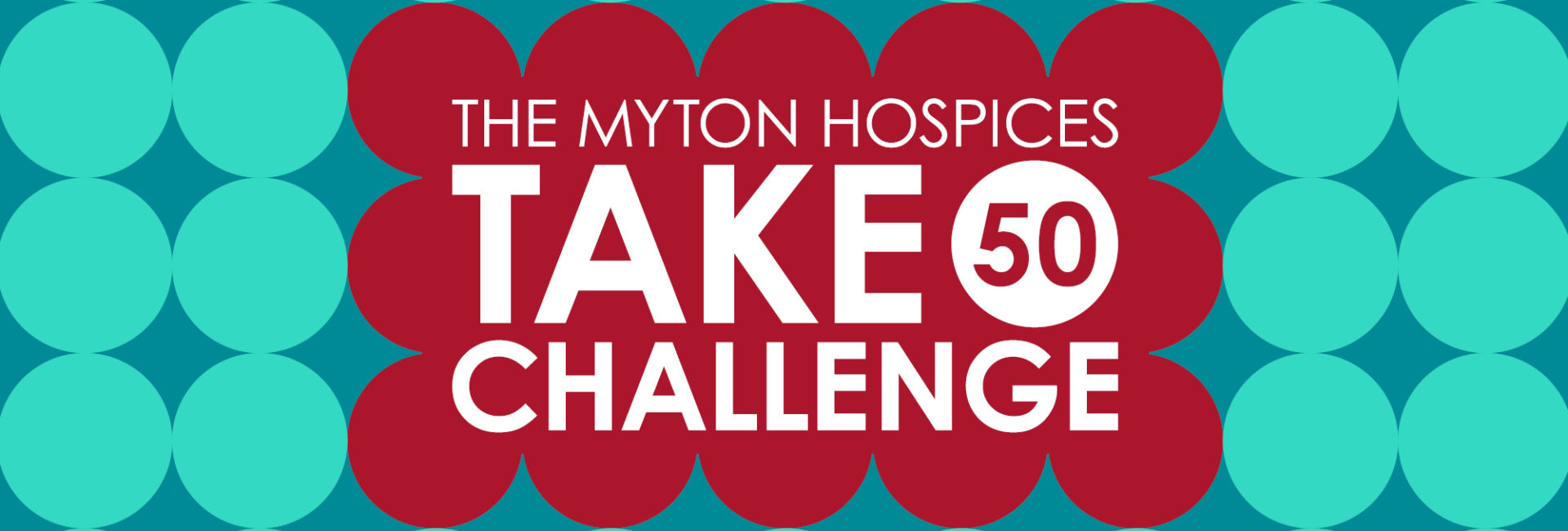 The Myton Hospices Take 50 Challenge Leamington Warwick Coventry Slider Banner