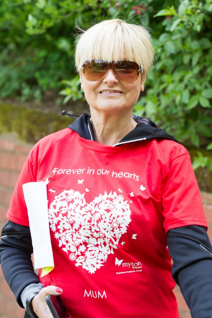 The Myton Hospices Walk for Myton 2017 In Memory T-Shirt Single Sided Warwick Coventry Leamington Spa Rugby