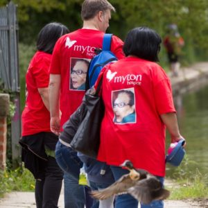 The Myton Hospices Walk for Myton 2017 In Memory T-Shirt Double Sided Warwick Coventry Leamington Spa Rugby