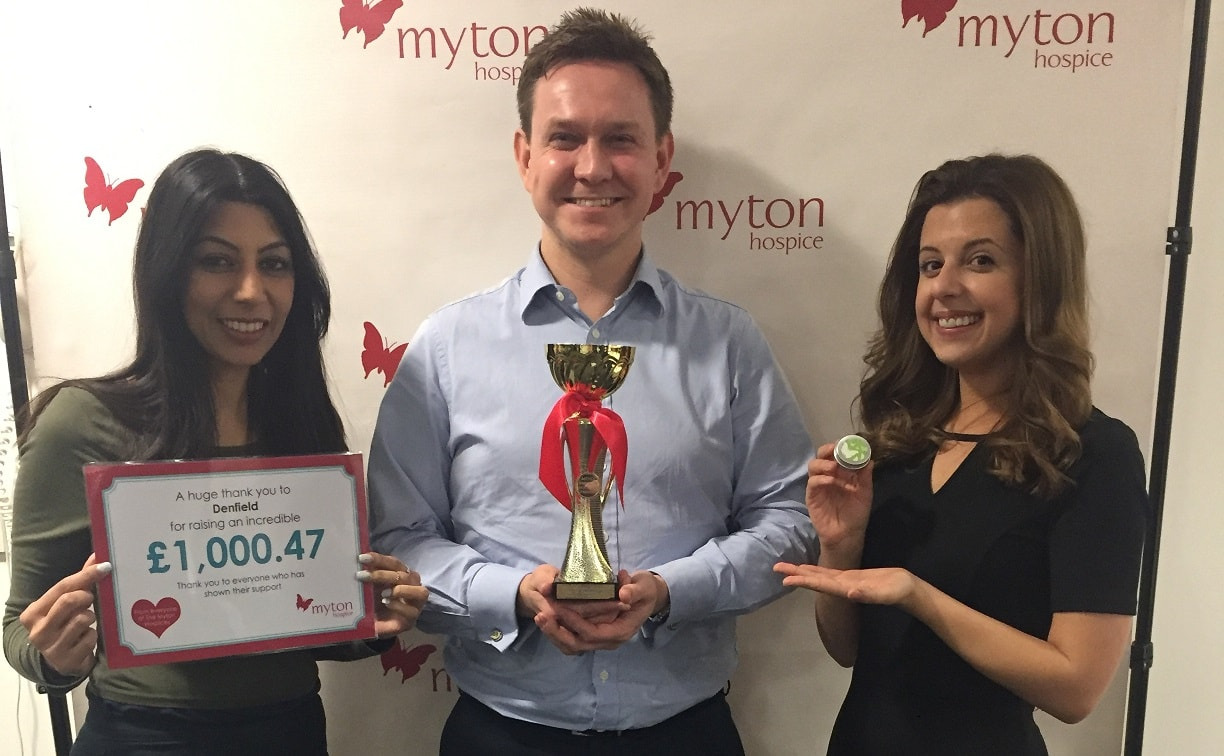 The Myton Hospices Take 50 Challenge Denfield