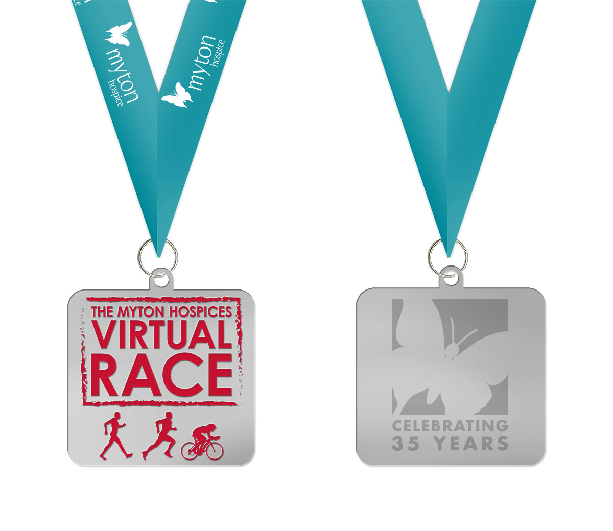 The Myton Hospices Virtual Race Medal