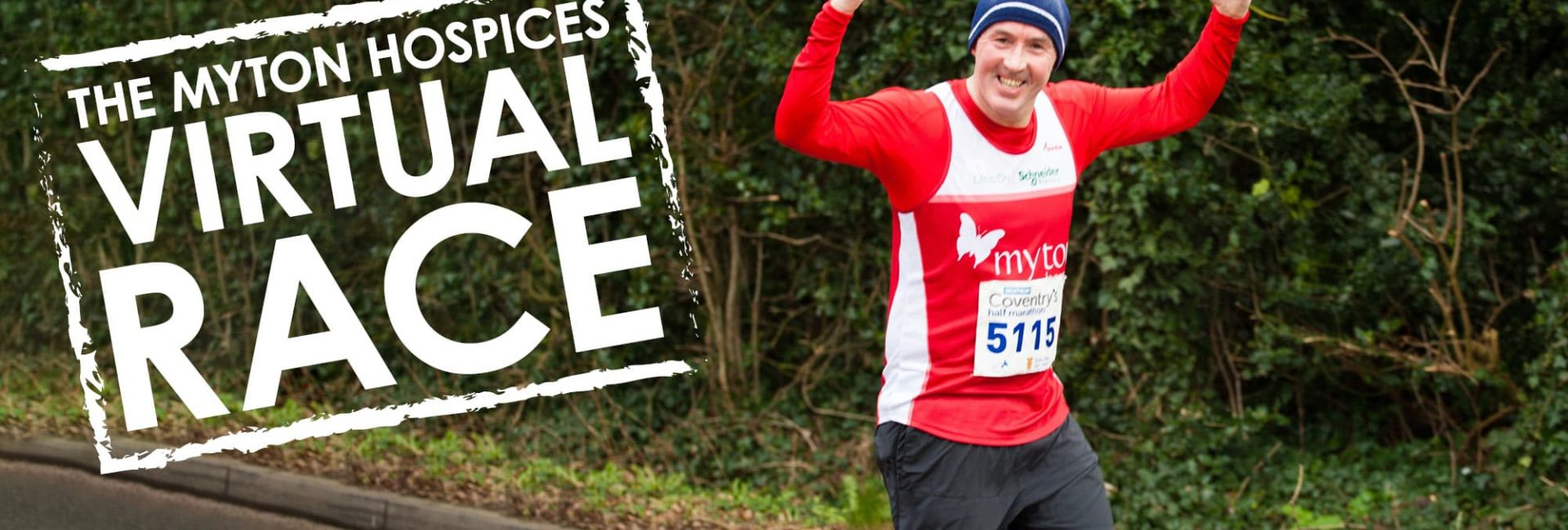 The Myton Hospices Virtual Race Channel Image Warwick Leamington Coventry Rugby Warwickshir Flex Slidere Running