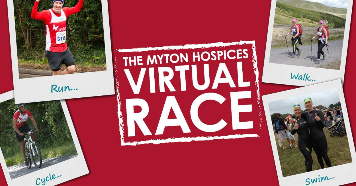 The Myton Hospices - Virtual Race 2018 Banner