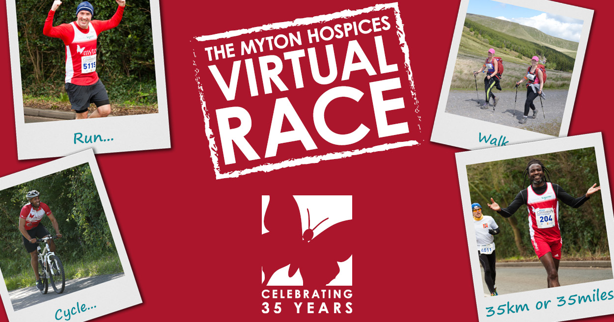 The Myton Hospices Virtual Race Leamington Spa Rugby Coventry Warwick Warwickshire Running