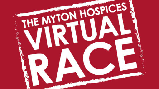 The Myton Hospices Virtual Race Channel Image Warwick Leamington Coventry Rugby Warwickshire Running
