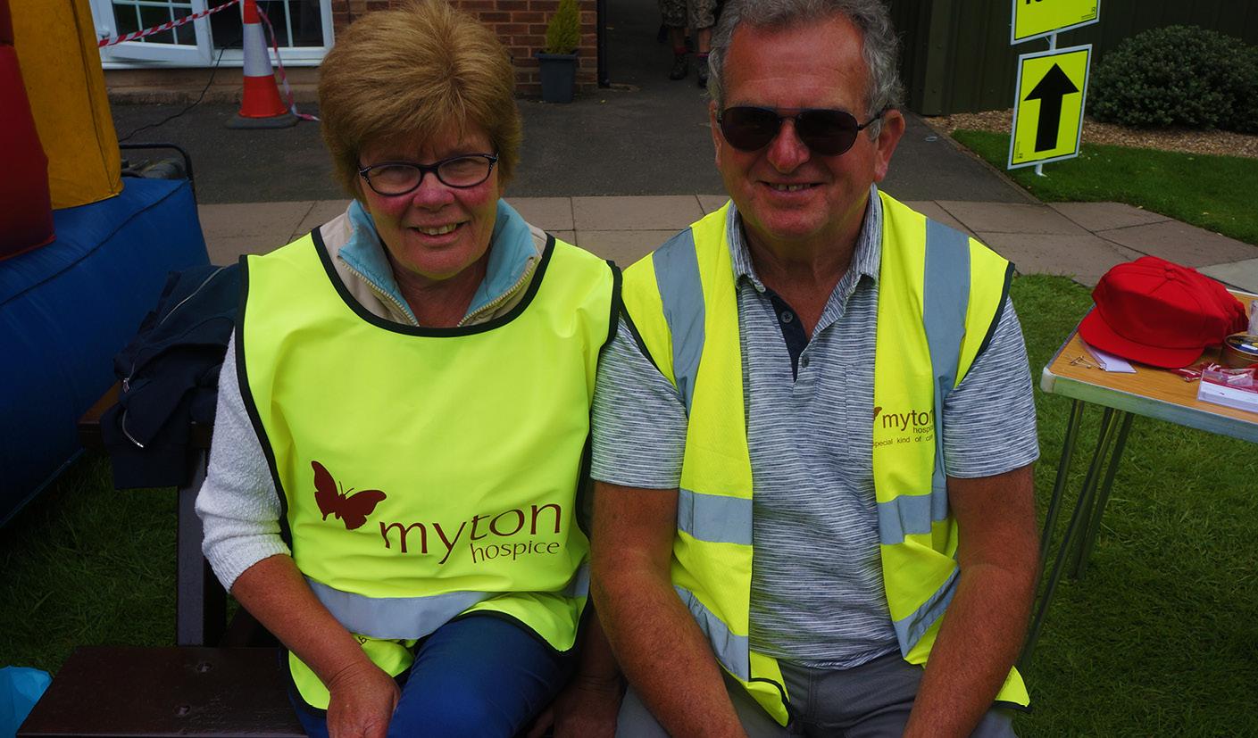 Volunteer's - the Myton Hospice - Walk For Myton