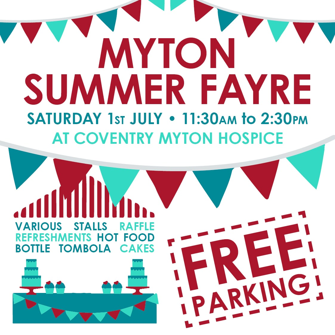 Coventry Summer Fayre The Myton Hospices Warwick Leamington Rugby
