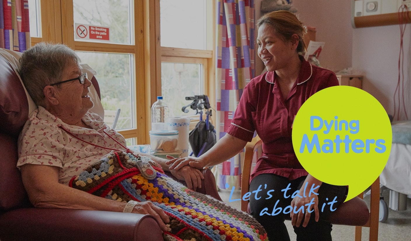Dying Matters Week 2017 Blog Header Leamington Warwick Coventry Rugby The Myton Hospices