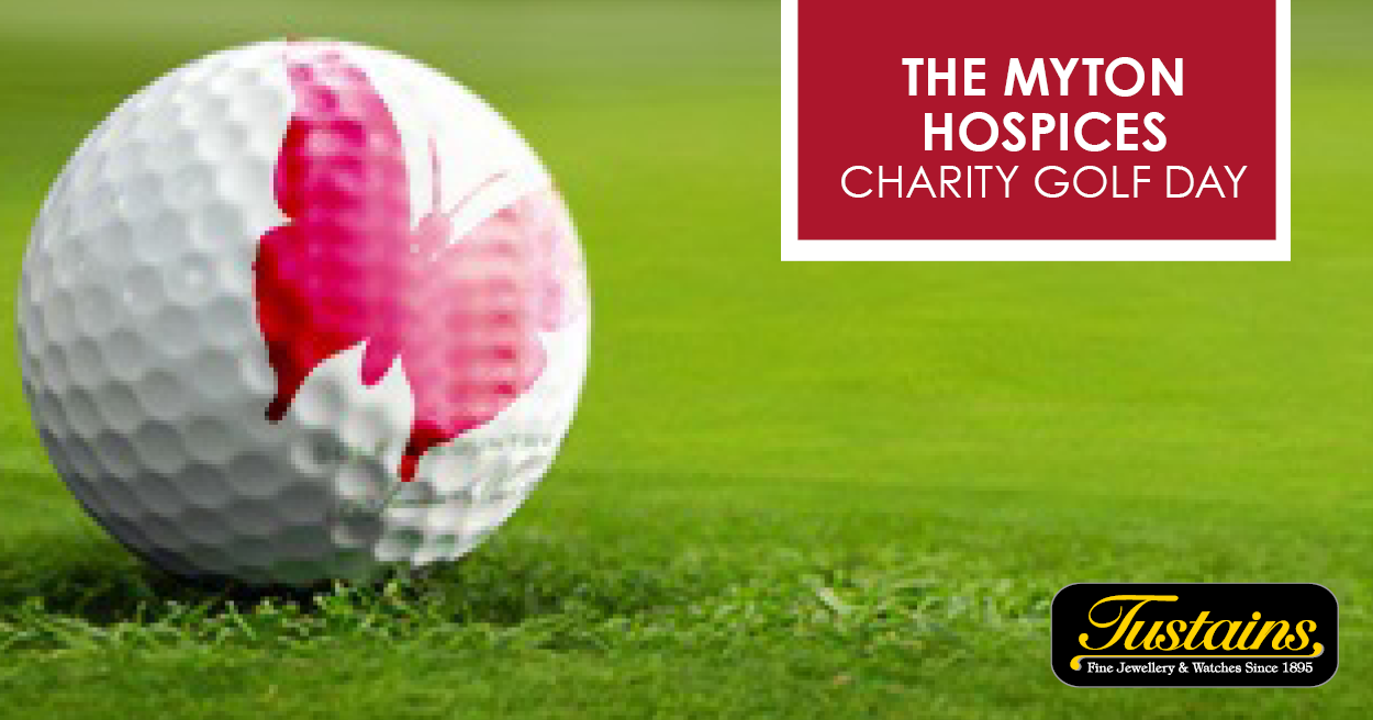 The Myton Hospices - Charity Golf Day Social Media Link Image