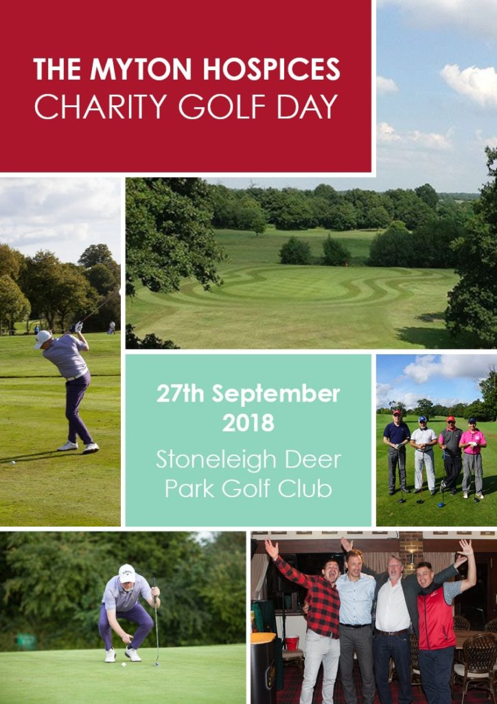 The Myton Hospices - Golf Day 2018 Poster
