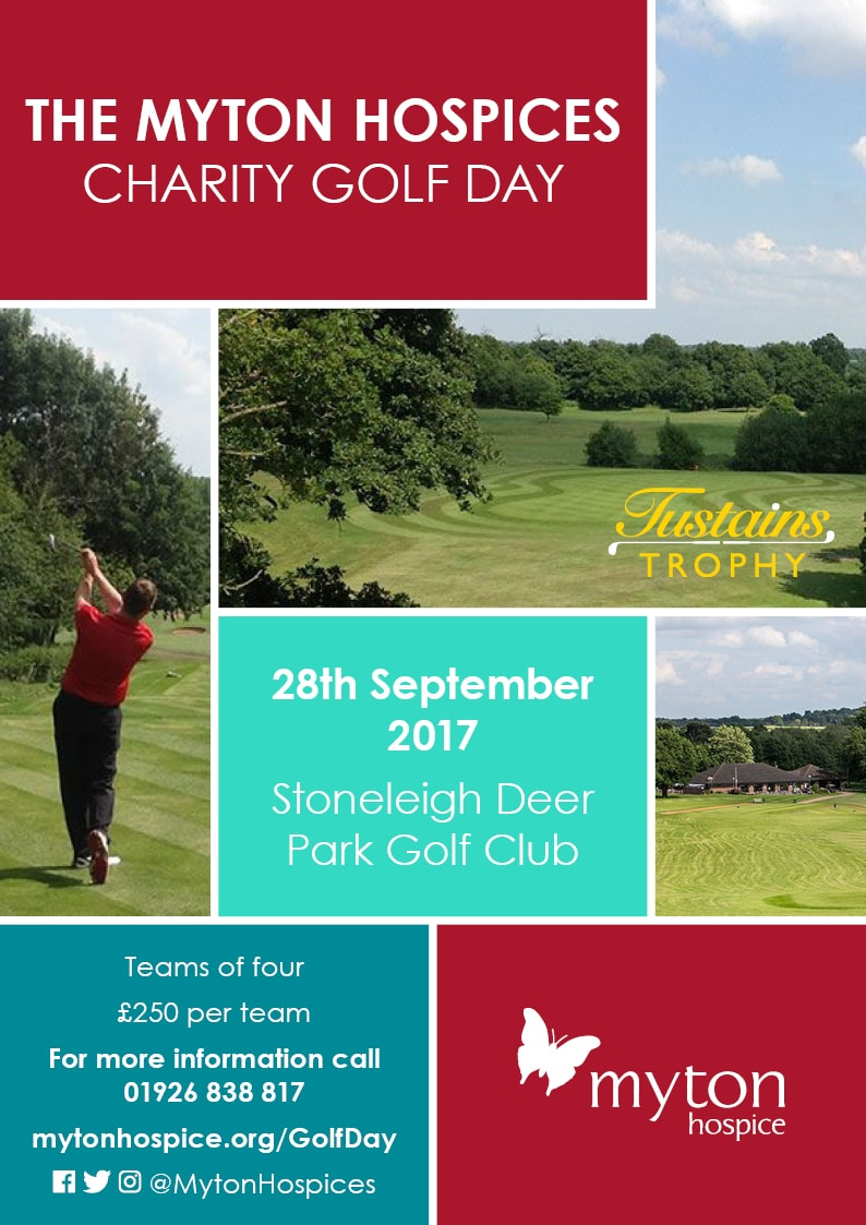 The Myton Hospices Golf Day 2017 Leamington Warwick Coventry