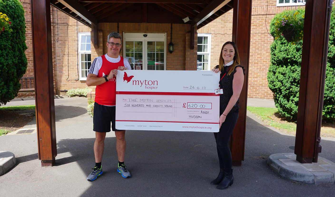 Andy Hudson - Fundraising - The Myton Hospices