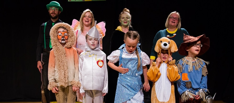 Ethan and Emily Flint have raised over £1,000 for The Myton Hospices with their production of The Wizard of Oz Blog Header