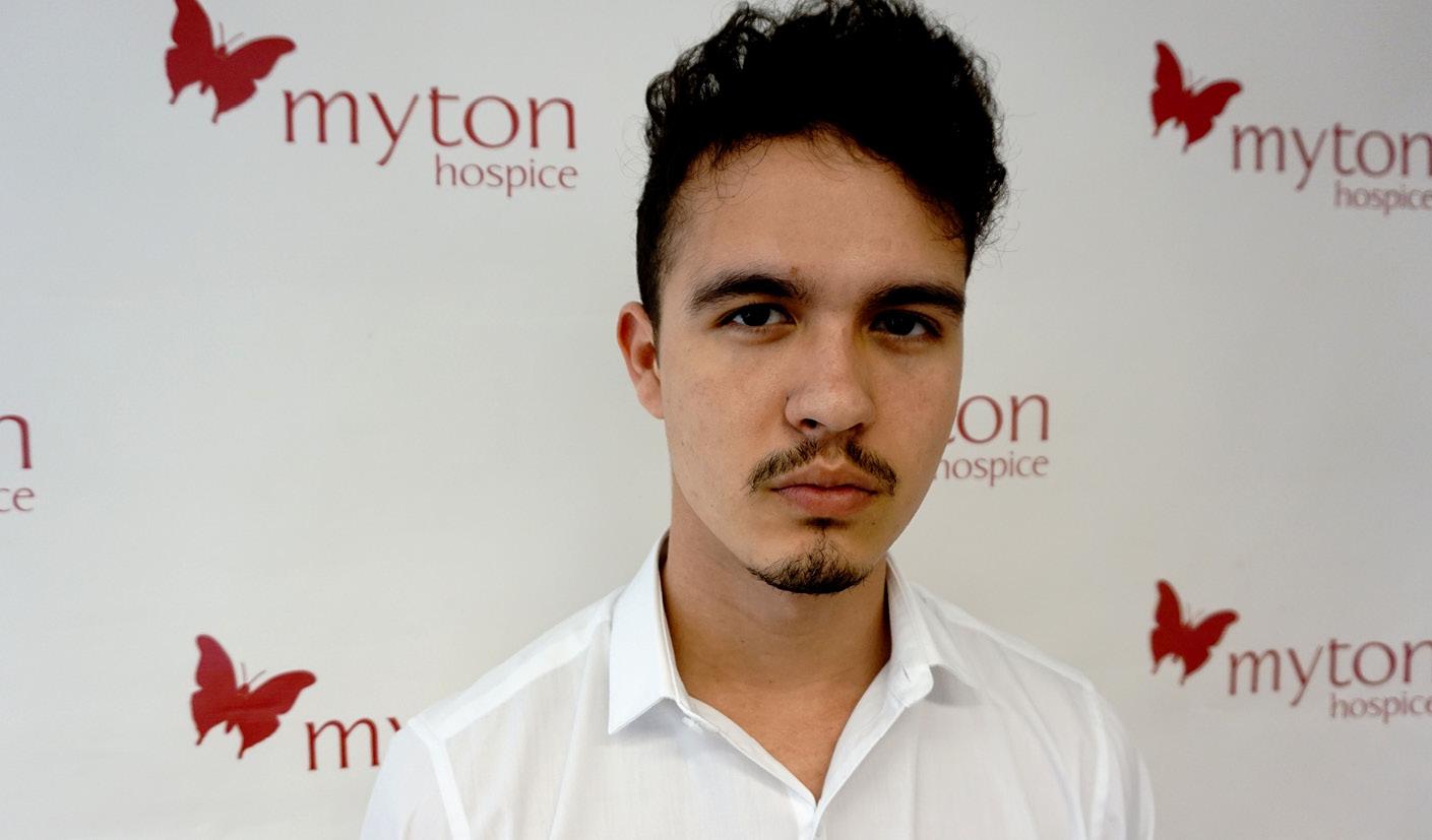 Luc Ord - Social Media - Digital Marketing - The Myton Hospices