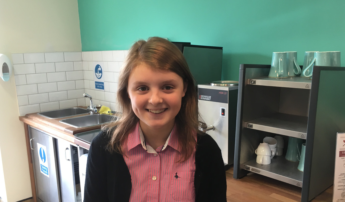 Jodie Bandeira - The Myton Hospices - Work Experience