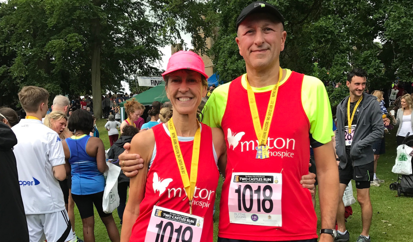 Rowan and Albert Edwards - Two Castles - The Myton Hospices