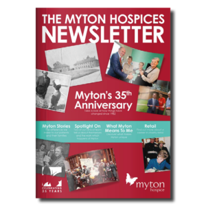 The Myton Hospices - Newsletter Front Cover 2017