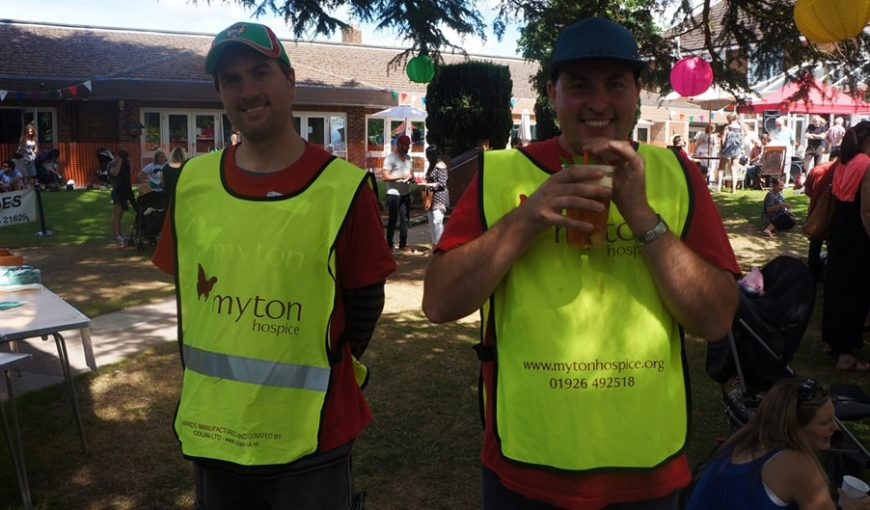 Volunteering Blog Header The Myton Hospices