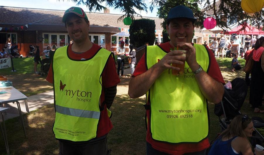 Volunteering Blog Header The Myton Hospices