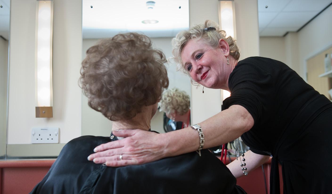Ann Sayce - The Myton Hospices - Hair Salon