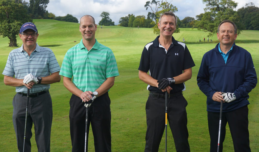 Golf Day Team photo - The Myton Hospices - Event