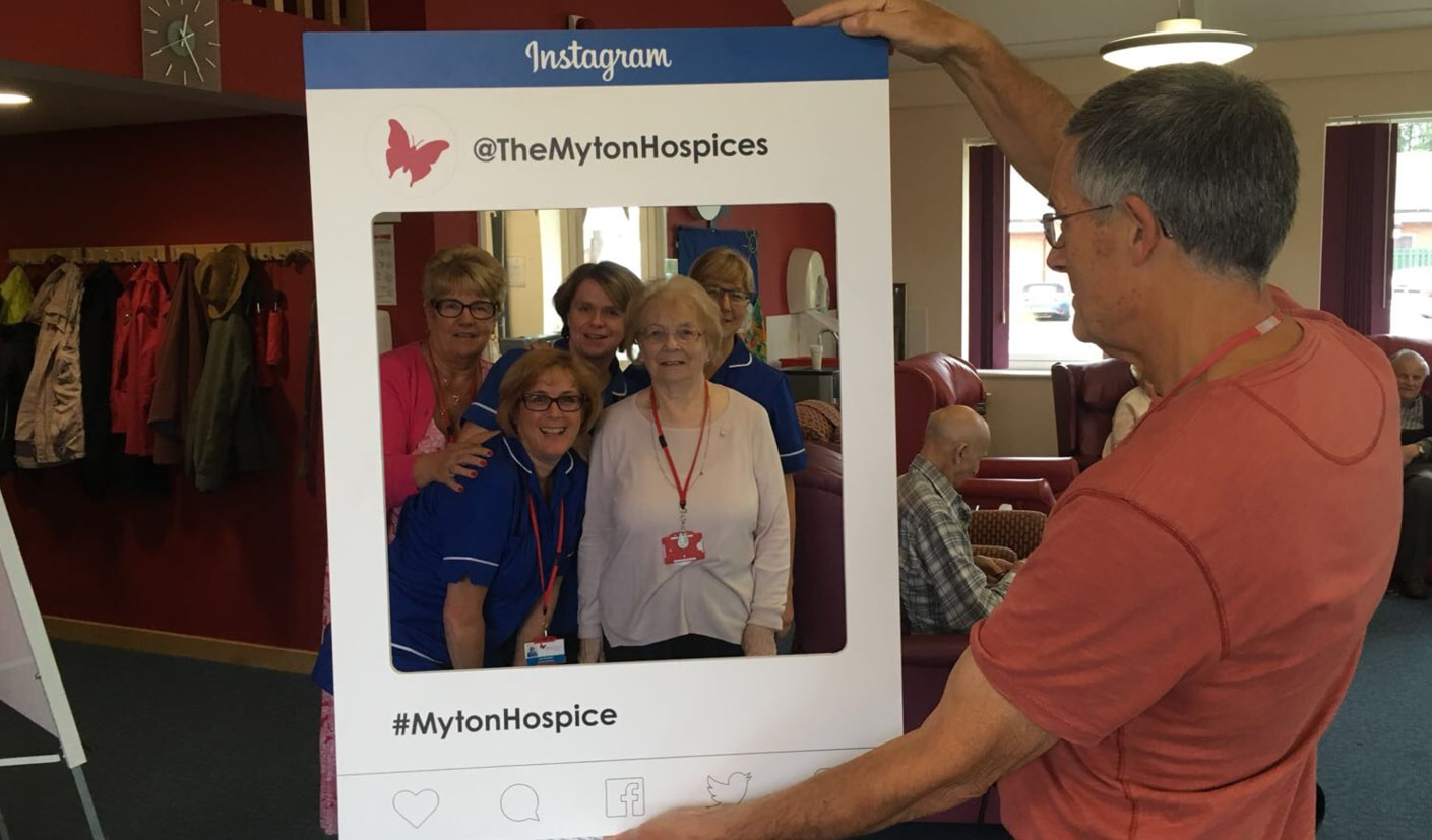 The Myton Hospices - Warwick Coventry Leamington Spa Rugby - Hospice Care Week HCW Blog Header