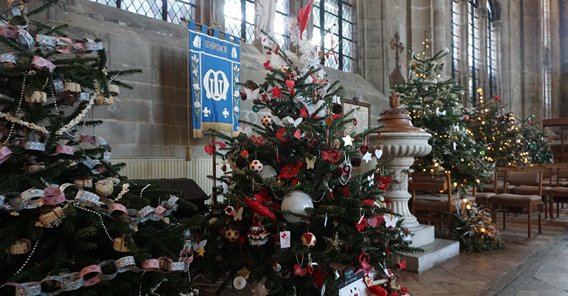 Christmas Tree Warwick - The Myton Hospices
