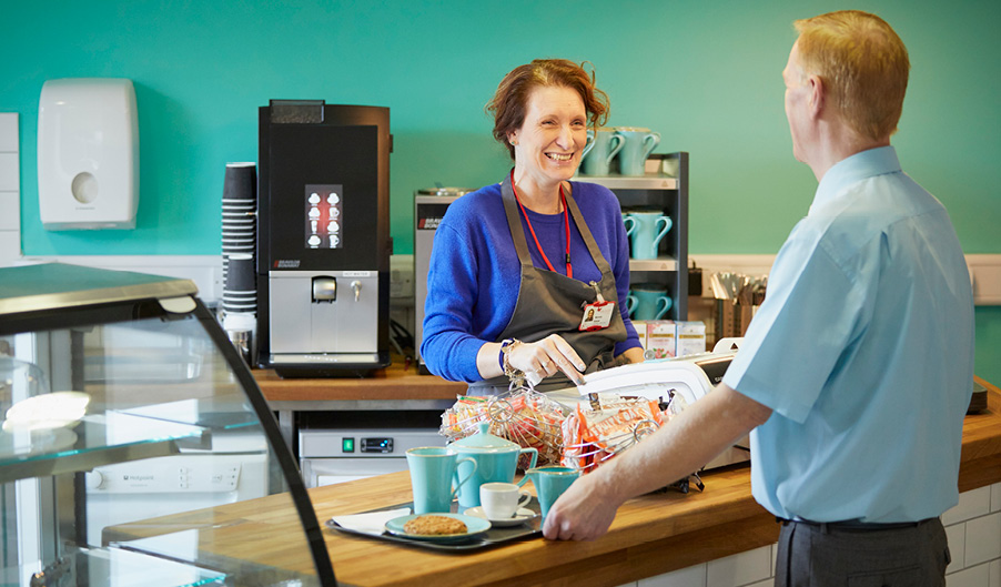Coffee Shop - Coventry Myton Hospice - The Myton Hospice
