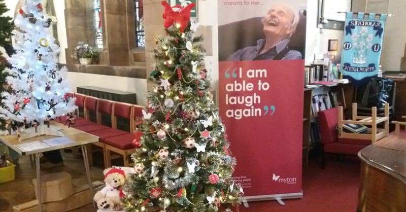 Kenilworth Christmas Tree - The Myton Hospices