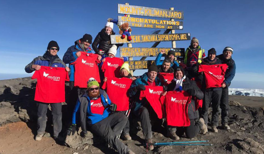 Kilimanjaro - The Myton Hospices - Rebecca Richards