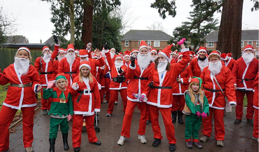 Santa Dash - The Myton Hospices