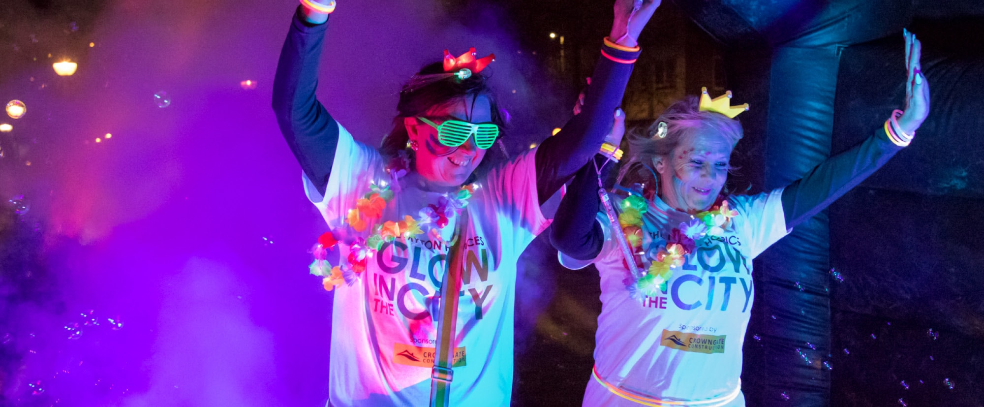 The Myton Hospices Events Glow In The City 2018