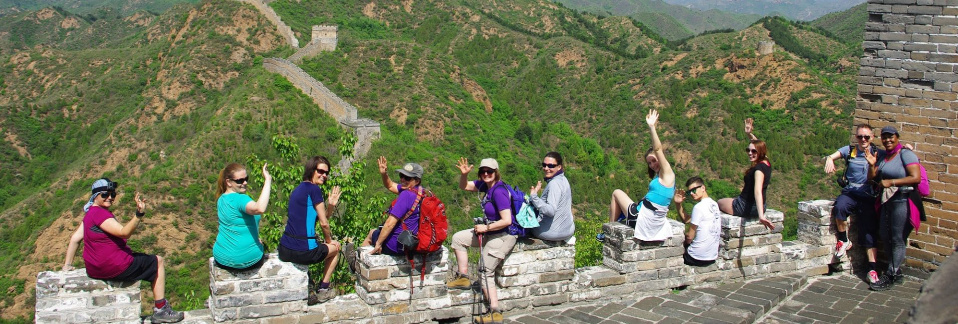 The Myton Hospices - Great Wall of China Flex Slider Challenge Event
