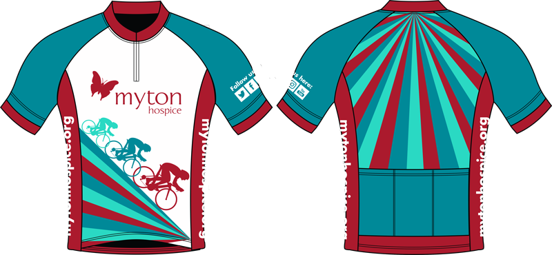 The Myton Hospices - Cycle Challenge Jersey 2018