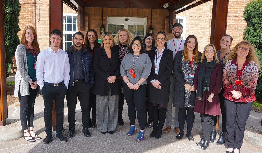 The Myton Hospices Staff - Charity Shop Challenge Blog Header