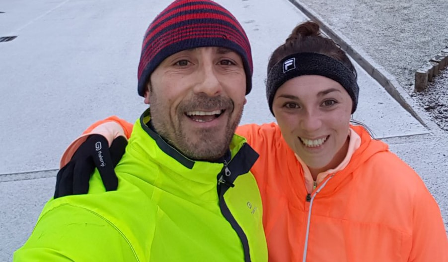 The Myton Hospices Holly Chris Coventry Half Marathon Blog Header
