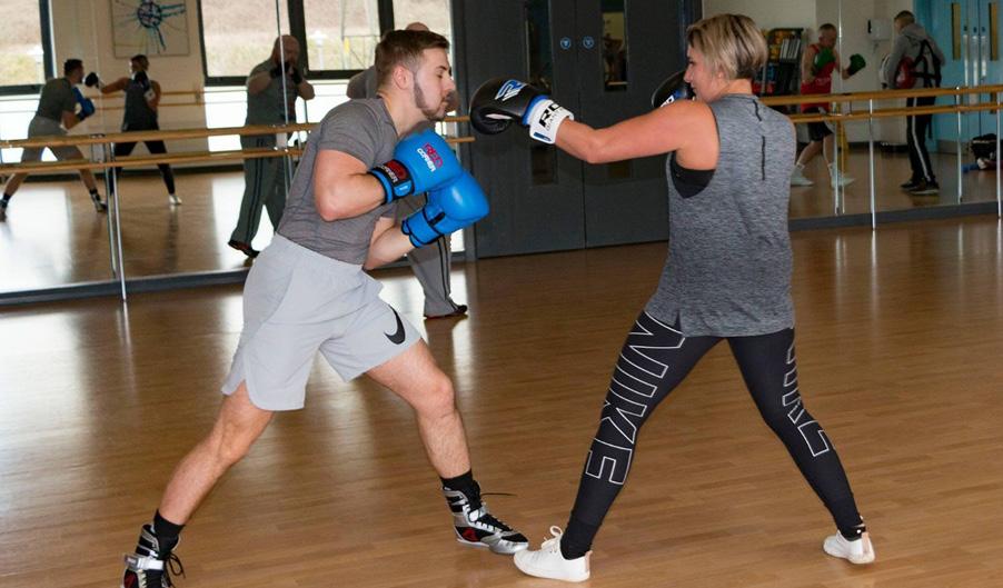 Corporate Fundraiser - Abigail Smith - Godiva Battleground - Boxing