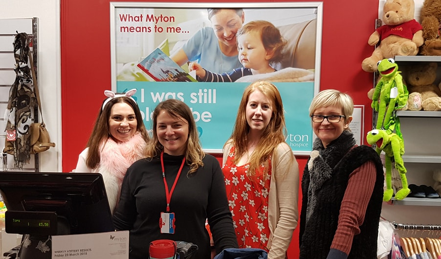 The Myton Hospices - Charity Shop Challenge - Blog Photos - Warwick Coventry Leamington Spa Rugby Warwickshire Hospice - Blog Header
