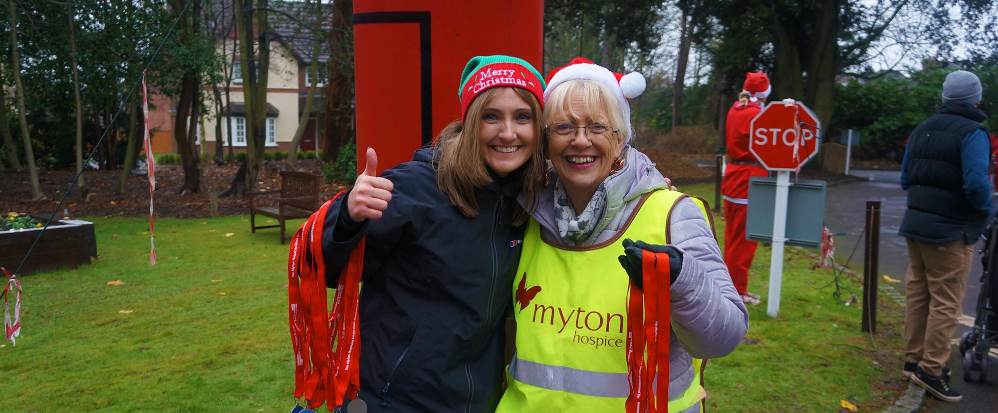 The Myton Hospices - Warwick Coventry Leamington Spa Rugby - Corporate Volunteering Volunteers Flex Slider