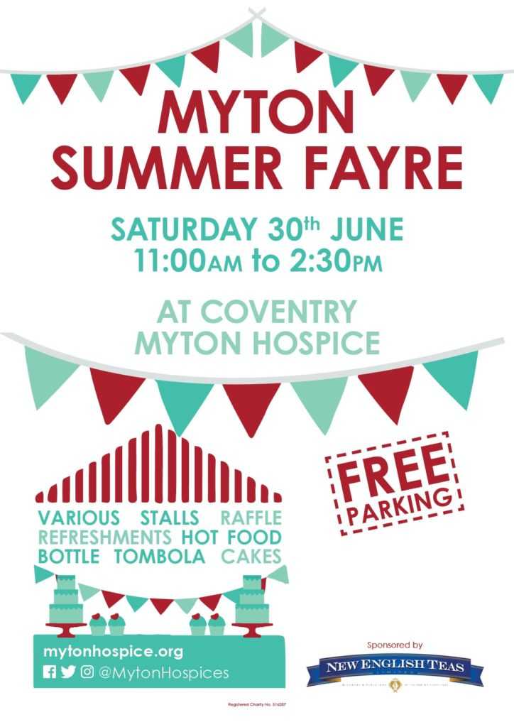 Coventry Summer Fayre - The Myton Hospices