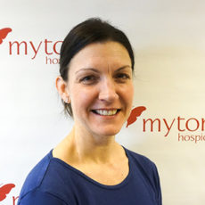 Karen Badgery The Myton Hospices Meet the Team Crops Education