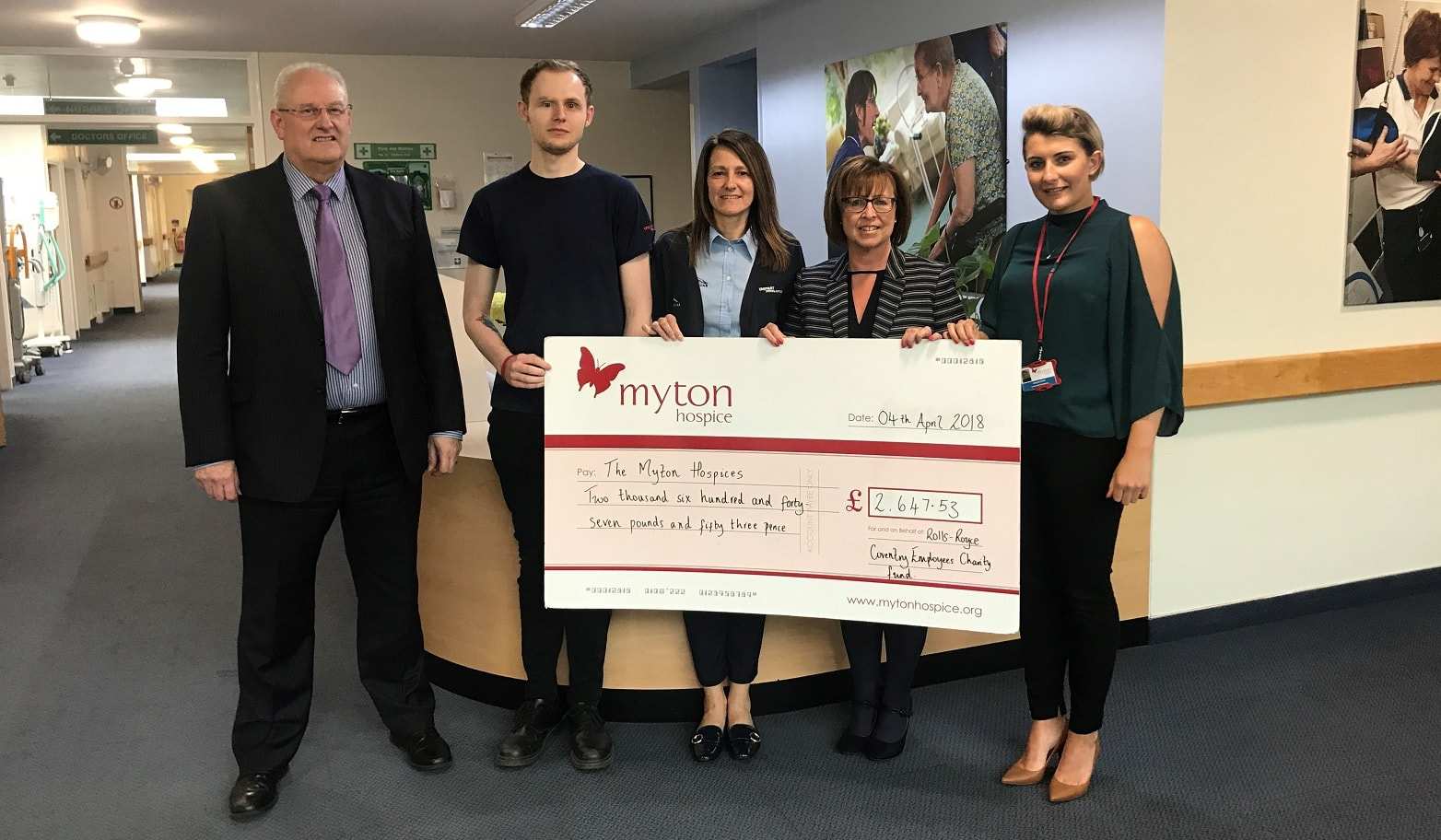 The Myton Hospices - Corporate Partnerships - Warwick Coventry Leamington Spa Rugby